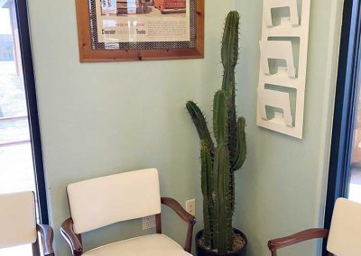 Prescott Valley Dentist Waiting Area
